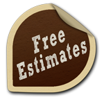Free Estimates Sticker